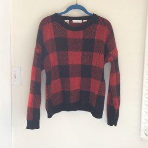 Cluelle   Buffalo Plaid Sweater